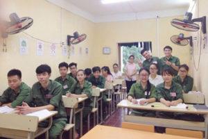 Khai giảng lớp tiếng Nhật dành cho du học sinh nhập cảnh tháng 1_2017